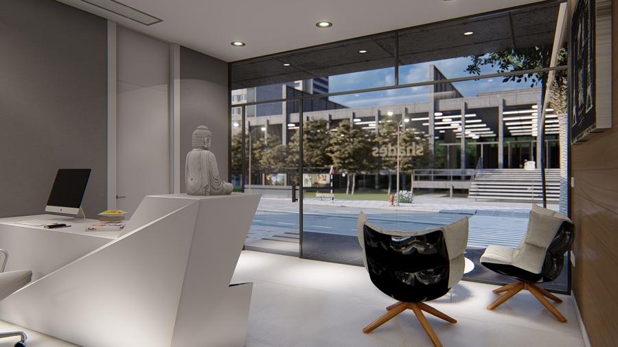 Diseño oficinas Shades Hall