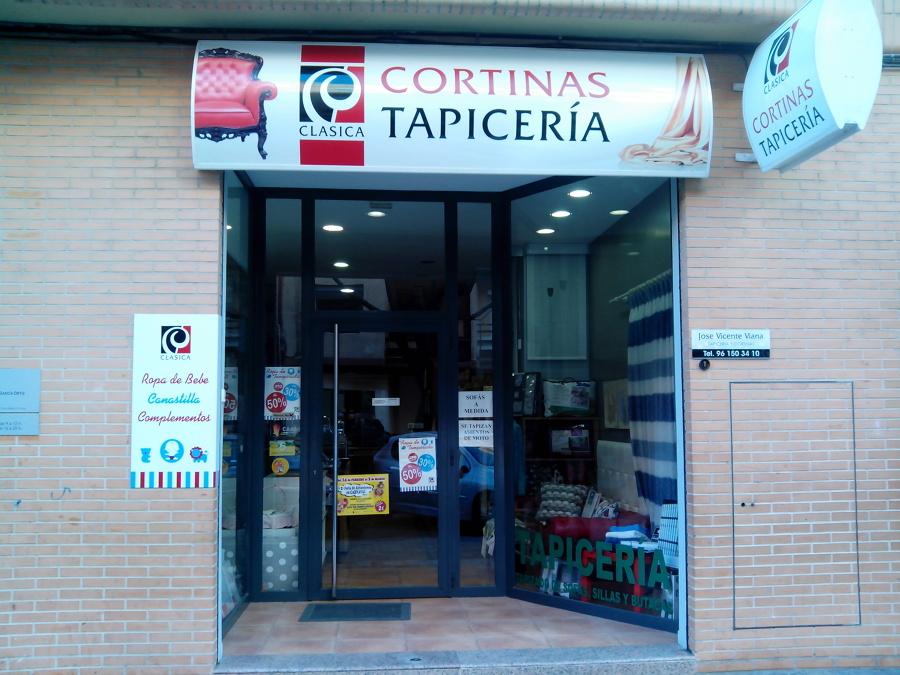 Foto foto local de clasica tapiceria y cortinas 598354 habitissimo - Tapiceros tarragona ...