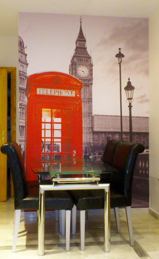 Foto mural adhesivo Londres.