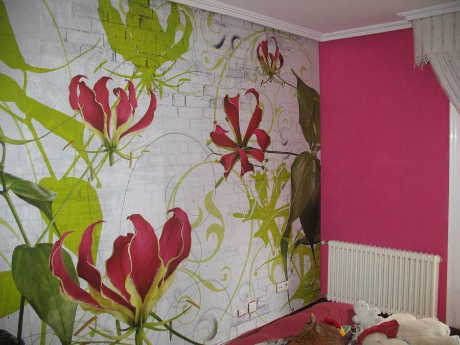 Foto mural y pintura