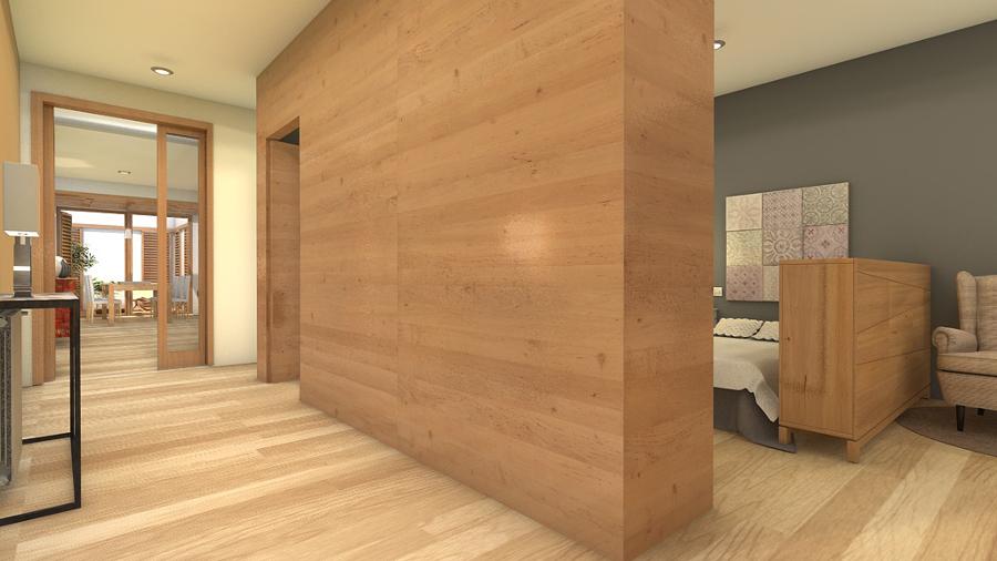 Reforma virtual casa de pueblo
