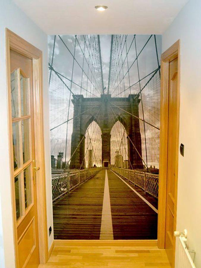 Foto fotomurales para pared de vinilando 454648 for Fotomurales de ciudades para pared