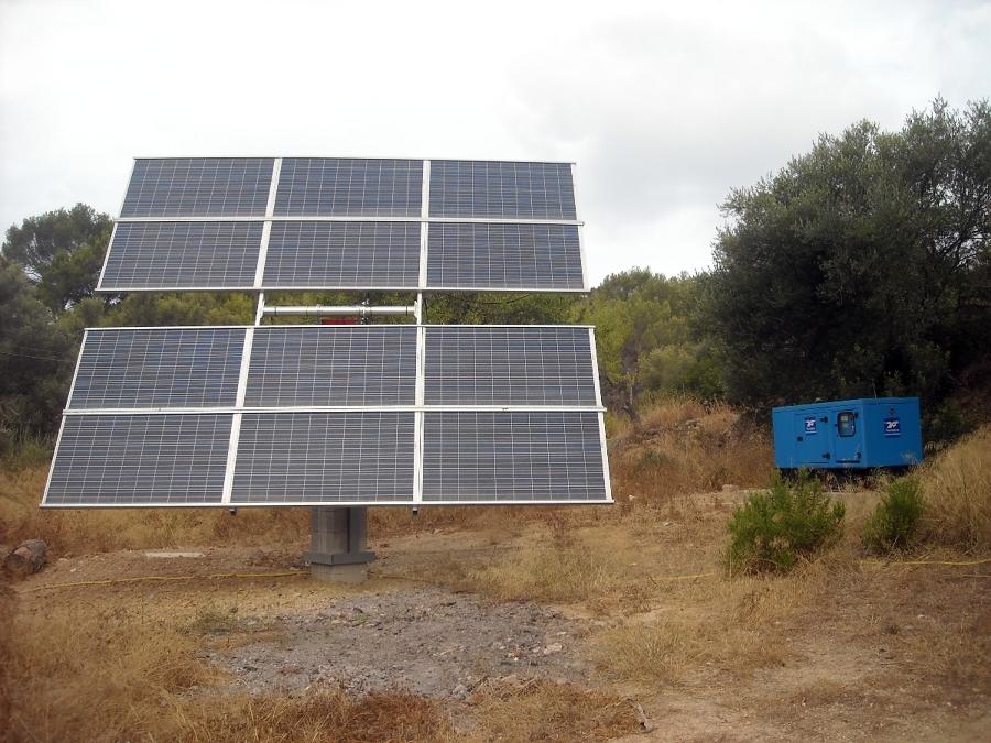 Fotovoltaica (seguidor solar)