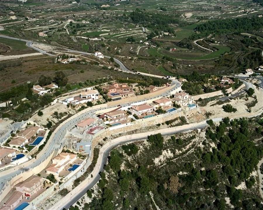 Urbanización Coma de ls Frailes - Teulada