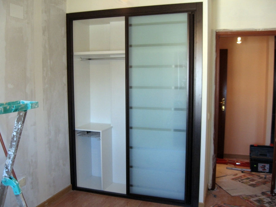 Frente de armario cristal