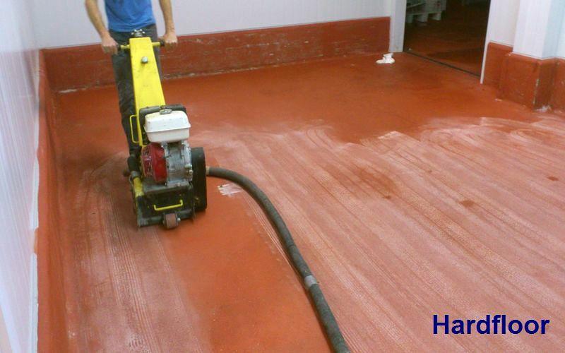 fresado suelo para instalar pavimento epoxi