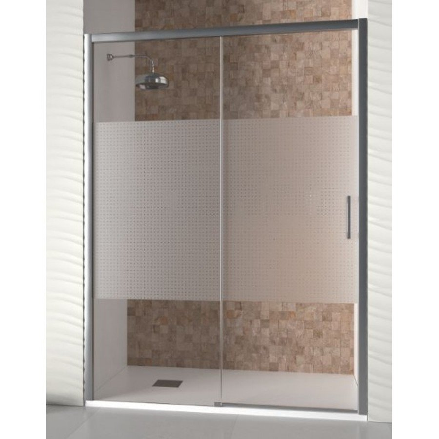 Foto mampara de ducha de aluminios y persianas albe sl for Modelos de duchas