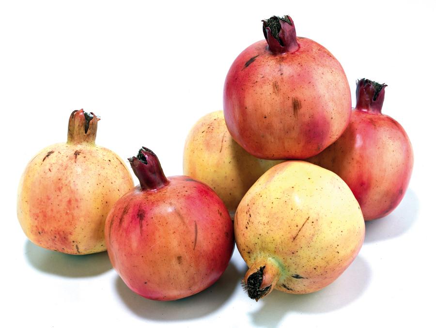 Foto frutas artificiales granadas de - Frutas artificiales para decoracion ...