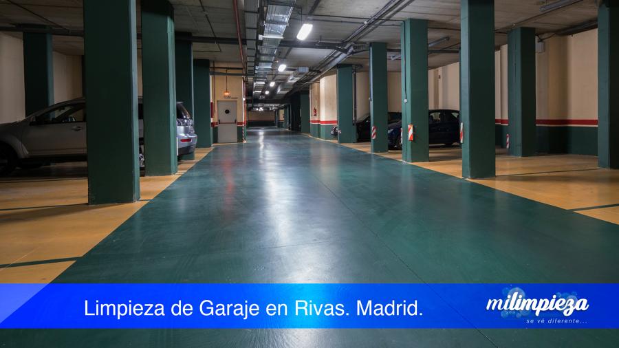 Limpieza  Garaje en Rivas Madrid.