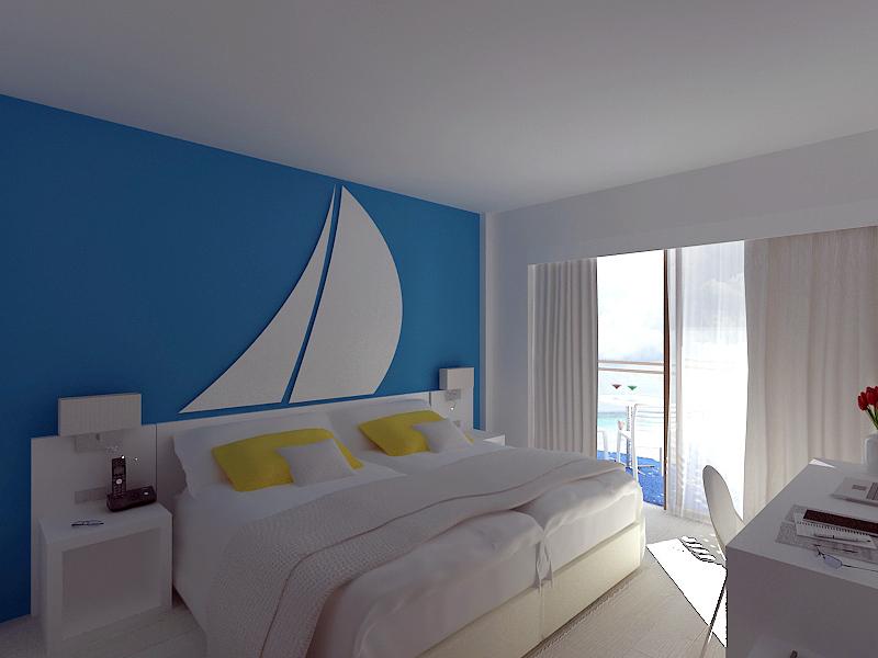 Habitación de Hotel. Islas Baleares