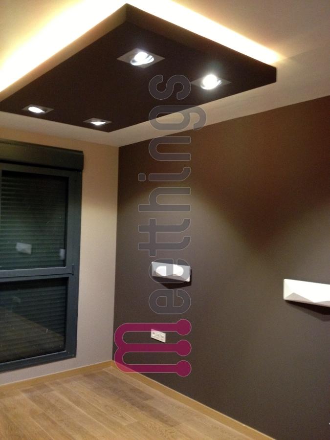 Foto habitaci n iluminada con leds de meetthings 421438 habitissimo - Luz indirecta led ...