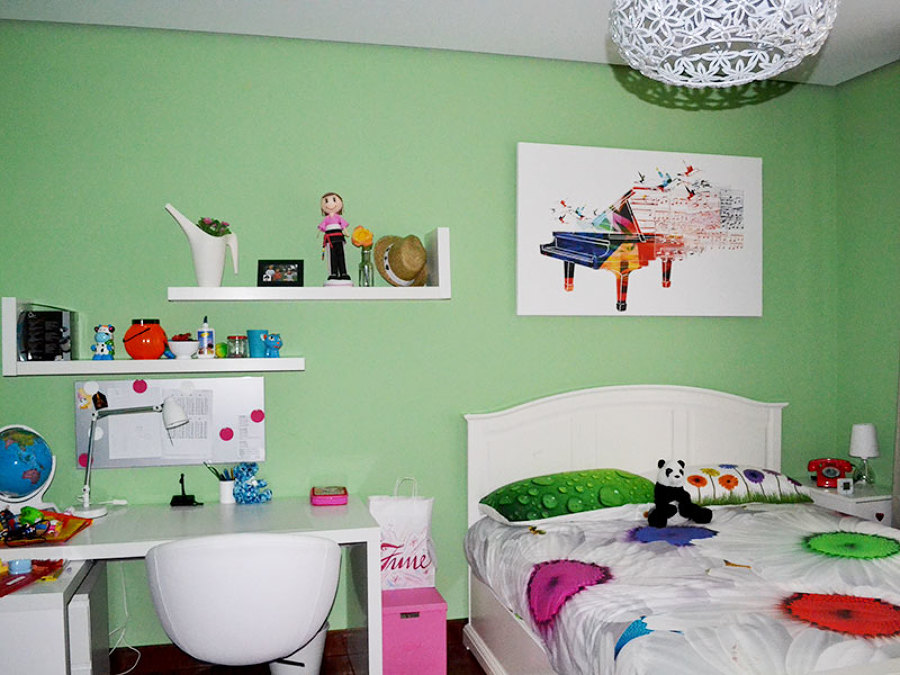 Pintura habitación infantil