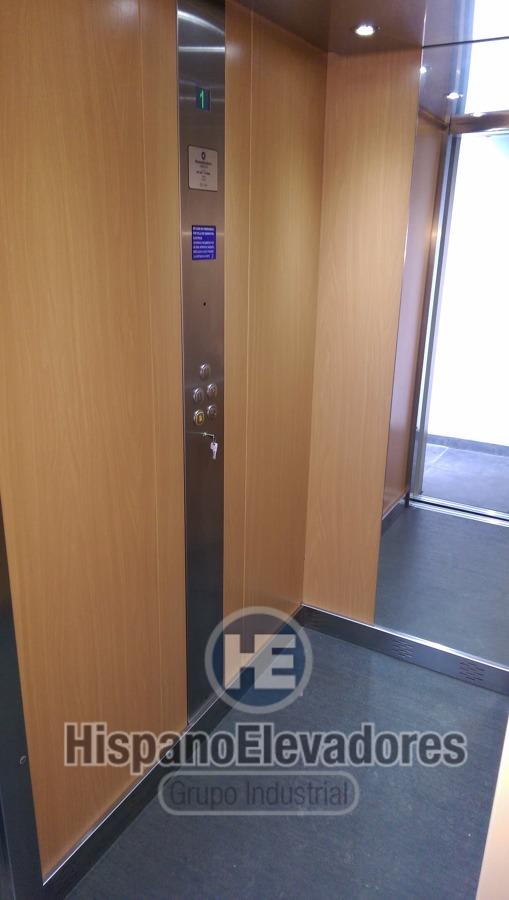 cabina detalle elevador