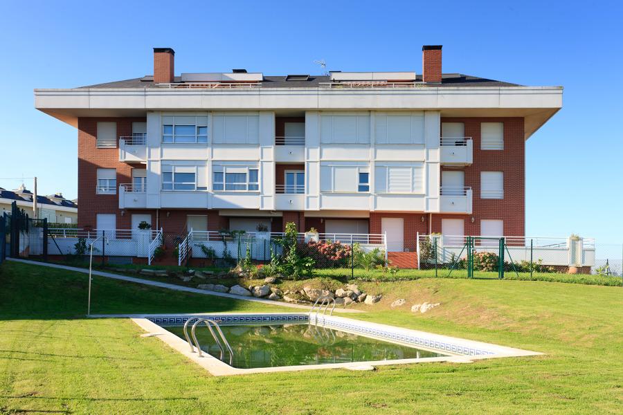 Urbanización de viviendas en Suances