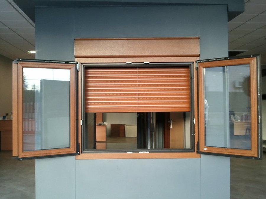 ventana pvc imitacion madera