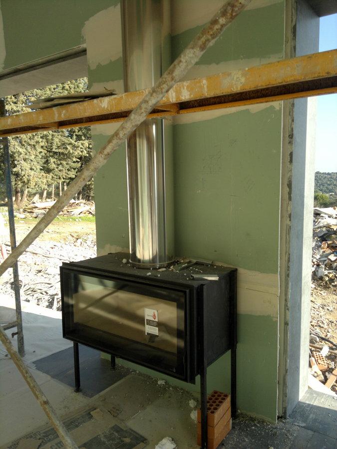 Foto hogar termofoc modelo c 100 de chimeneas f nix - Chimeneas villalba ...