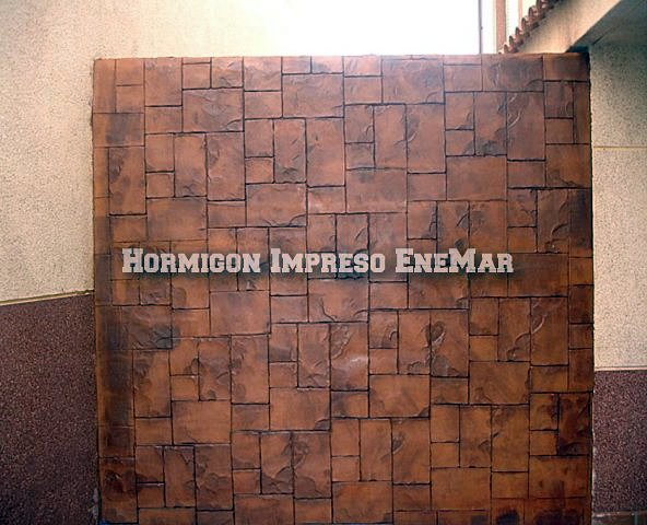 Foto hormigon impreso avila de hormigon impreso enemar for Hormigon impreso girona