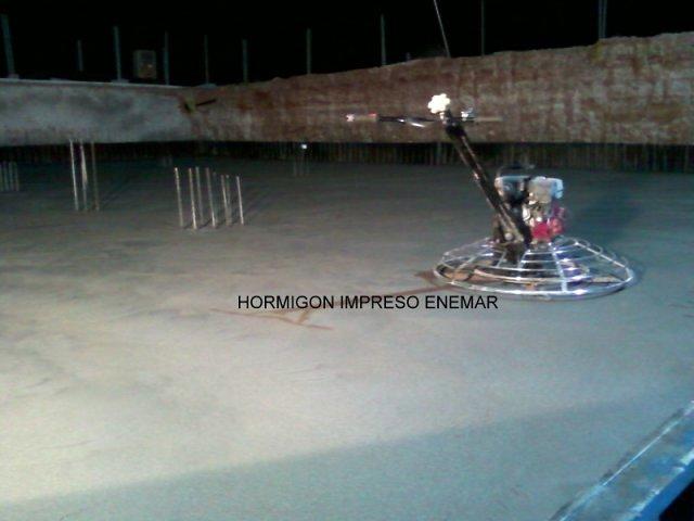 Hormigon pulido Enemar en Teruel