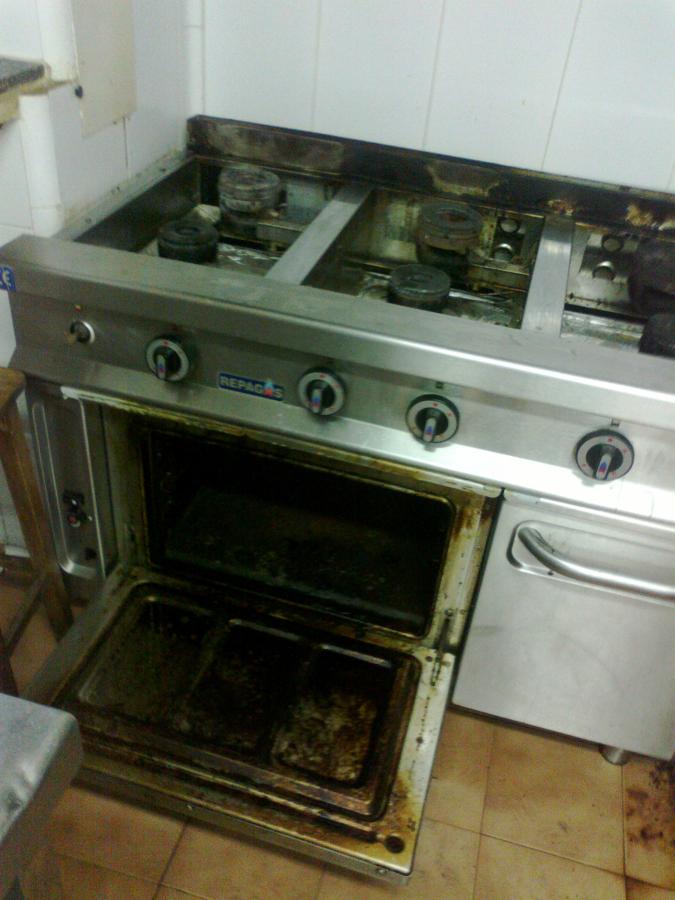 Foto horno restaurante de grisomar limpieza y - Limpieza de horno ...