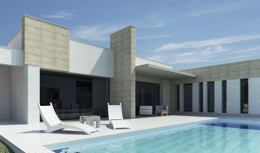 Vivienda moderna en Palencia