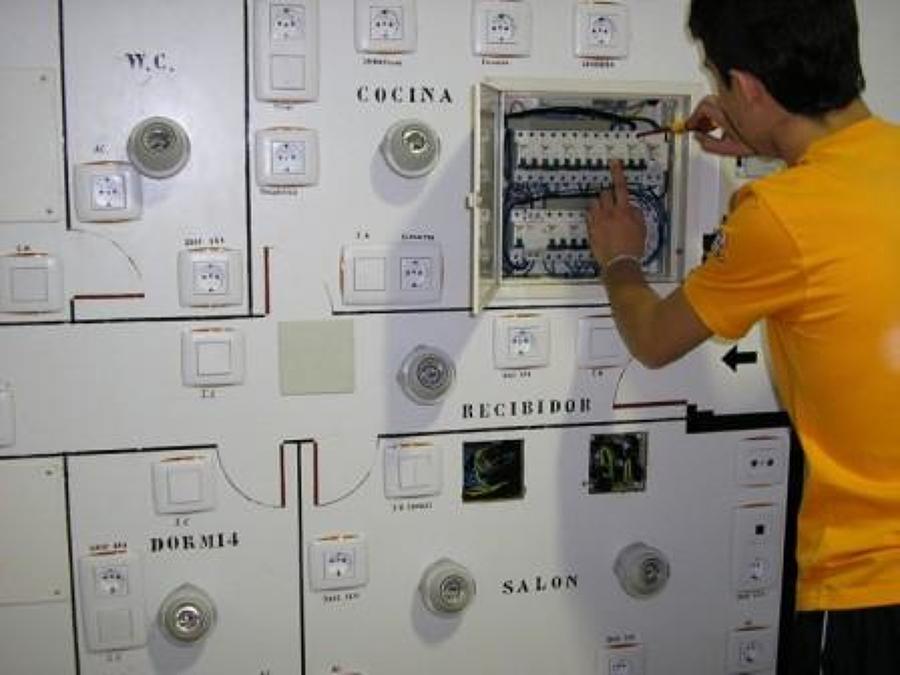 Montage de cuadro para control de procesos