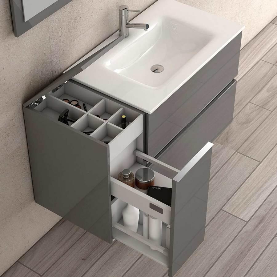 Mueble de baño suspendido auxiliar