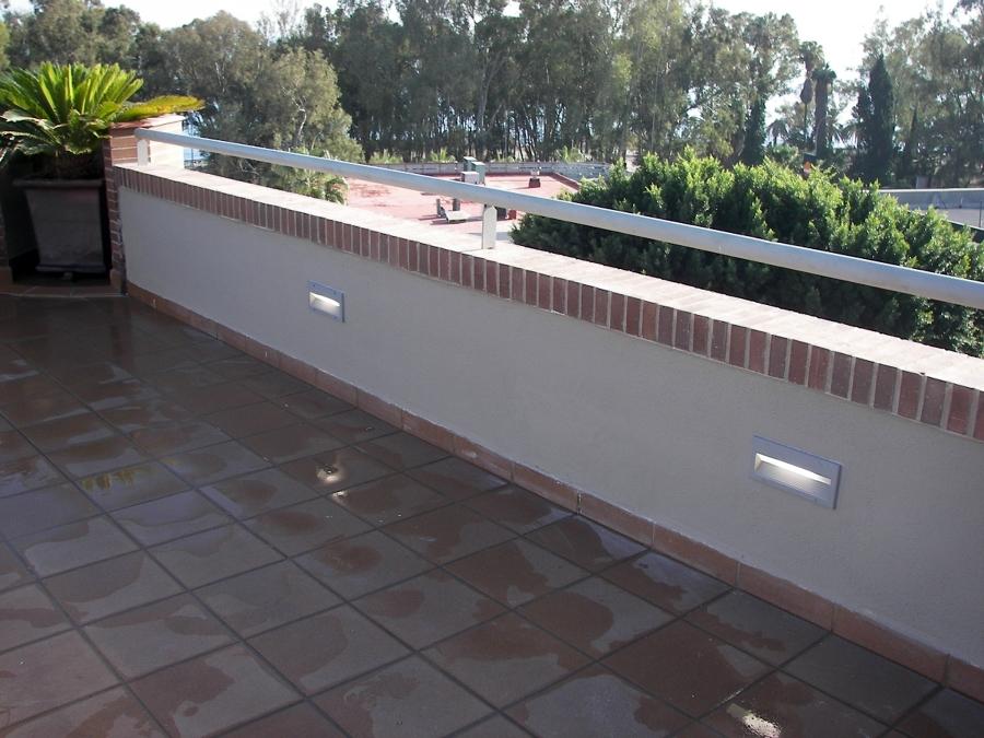 Foto iluminacion terraza de rovera espacios s l 215808 for Iluminacion terraza