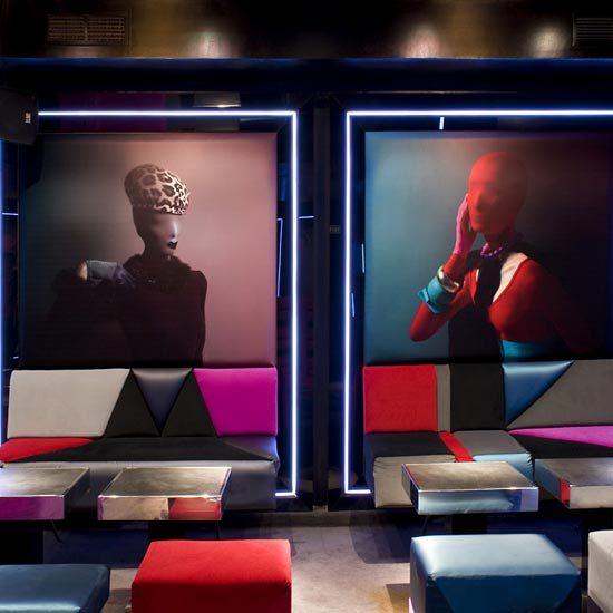 Iluminación Video Led en Club Musee