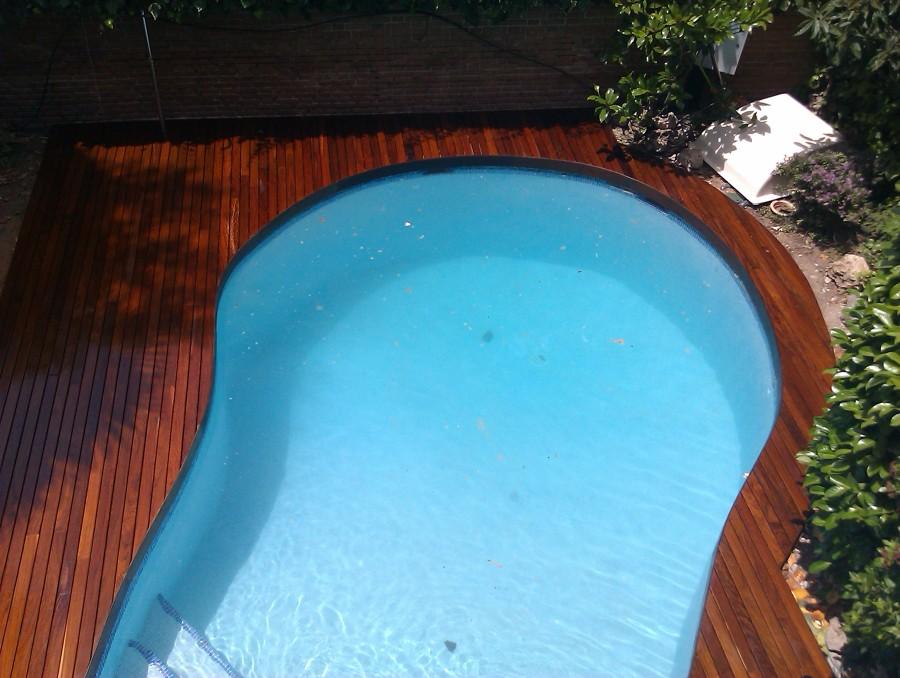 Madera exterior ipe piscina