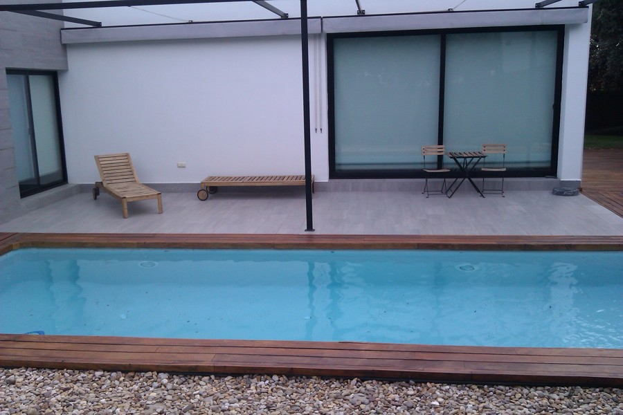 Ejecucion de exteriors y piscinas de chalet A6654