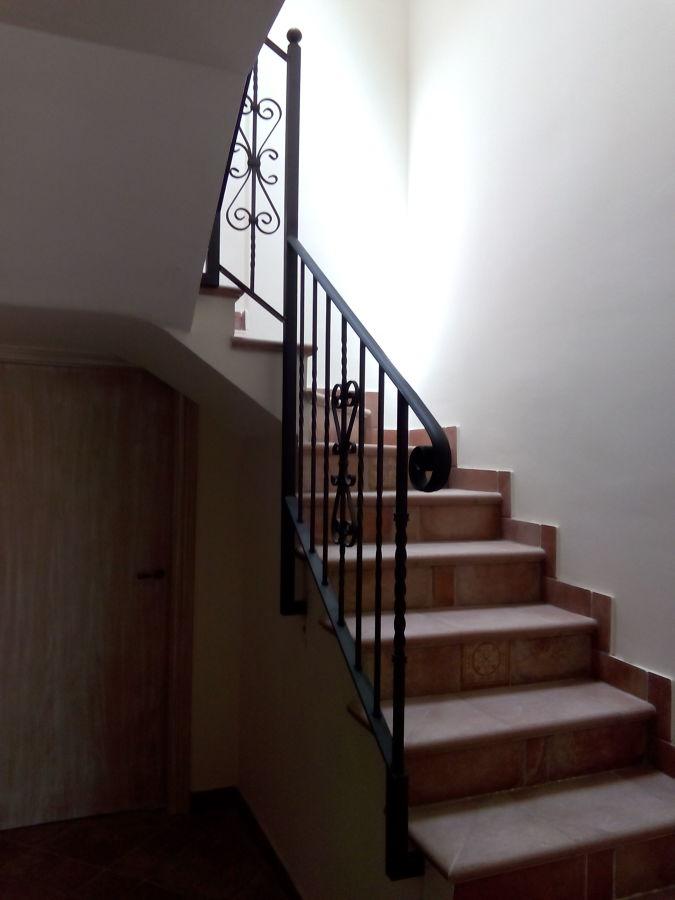 Foto baranda de forja para escalera de construcciones - Barandas de forja ...