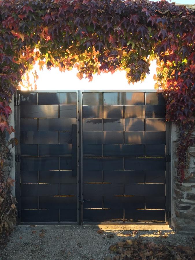 Puerta de finca