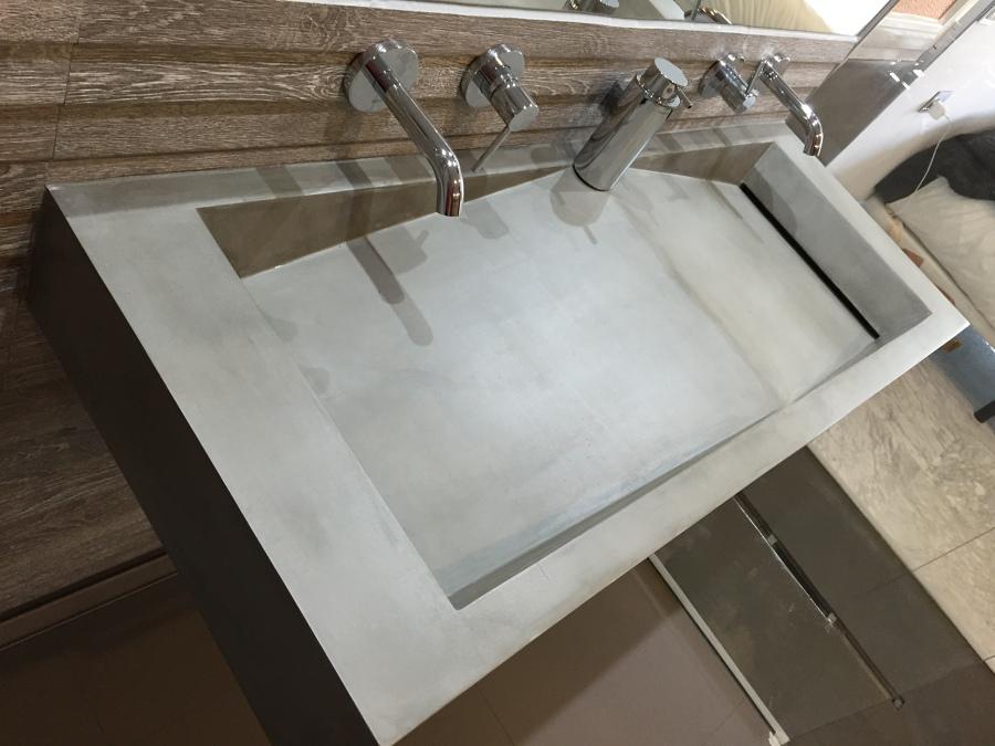 Lavabos de microcemento