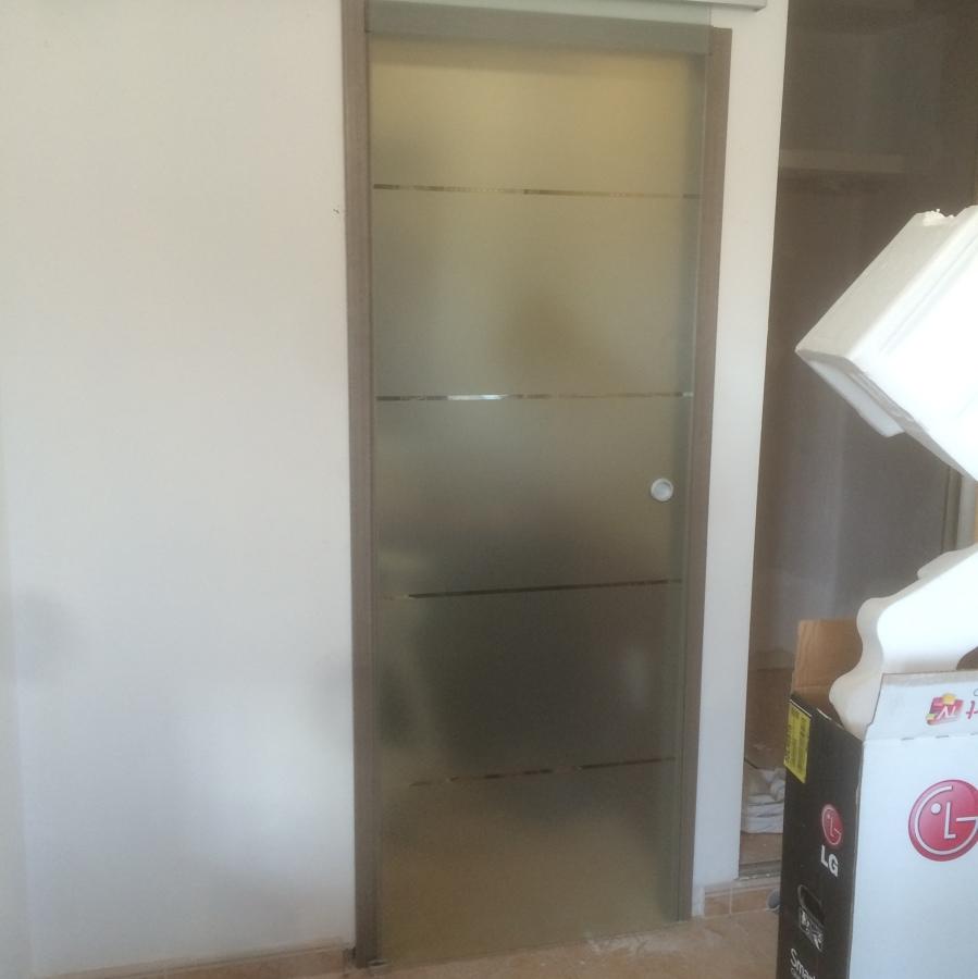 Colocación puerta coredera