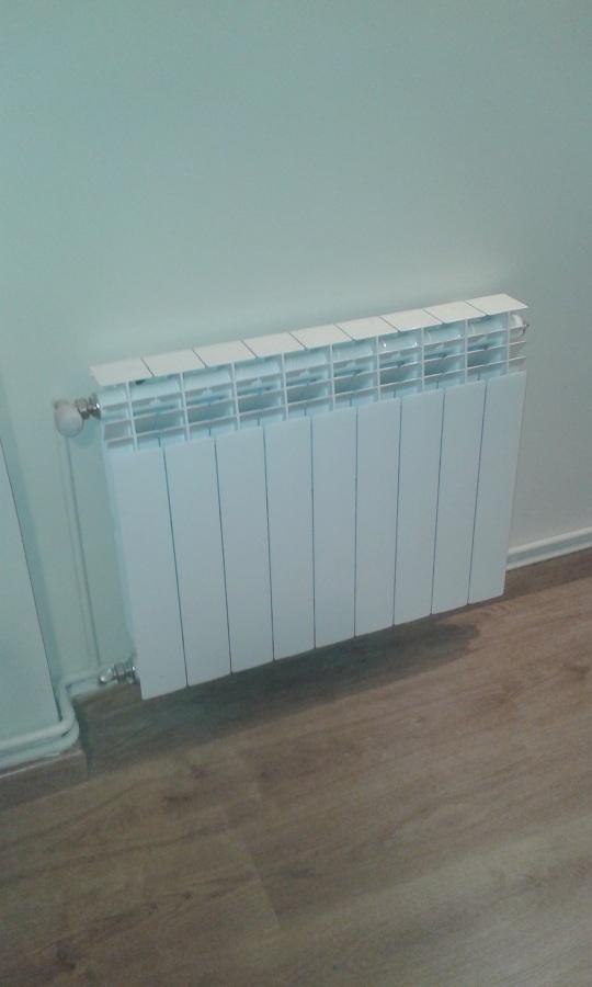 Colocacion radiador calefaccion
