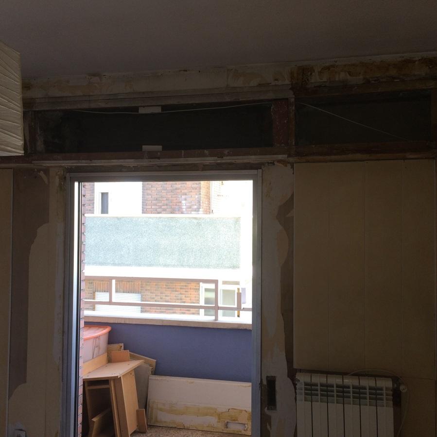 Foto cambio de puerta de aluminio de fc construcciones y - Cambio de puertas ...