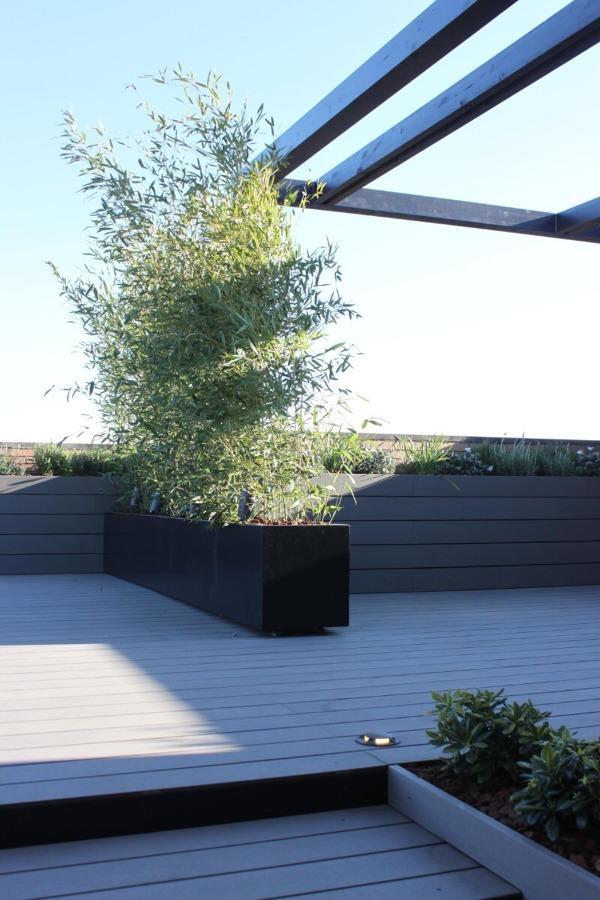 Tarima sintetica terraza