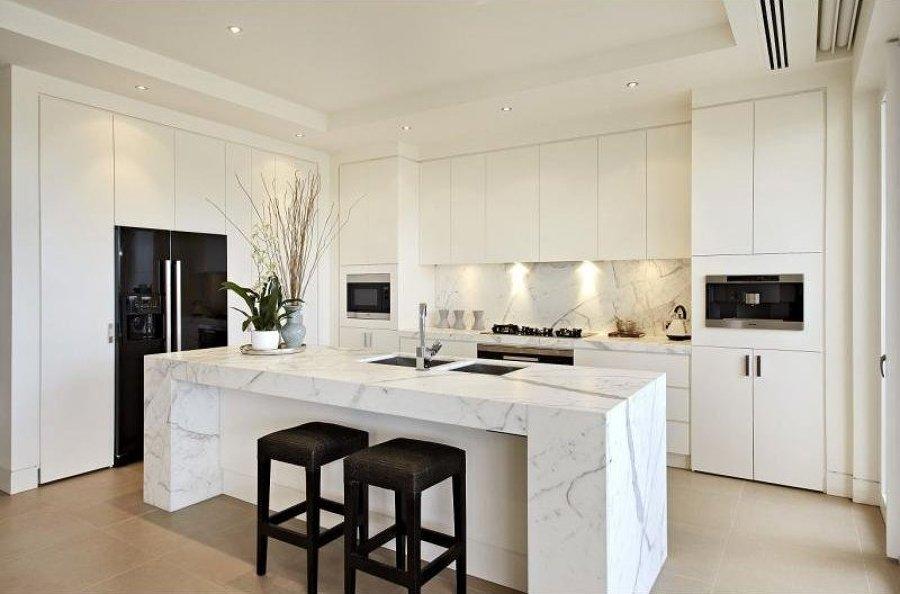 Foto encimera cocina de m rmoles y granitos - Marmoles en valladolid ...