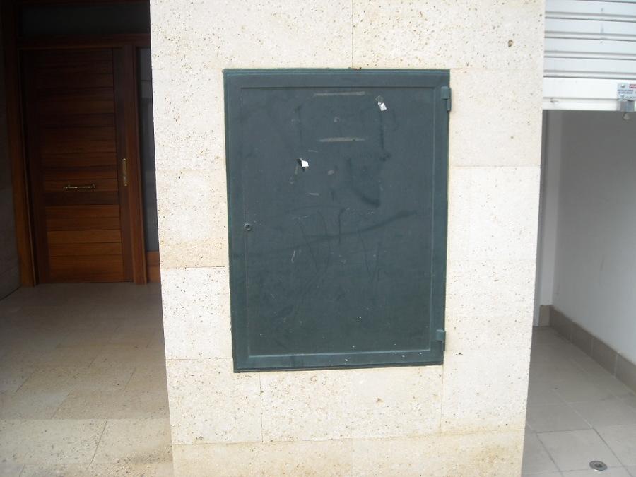 Puerta de protección antiincendios para centralización de contadores