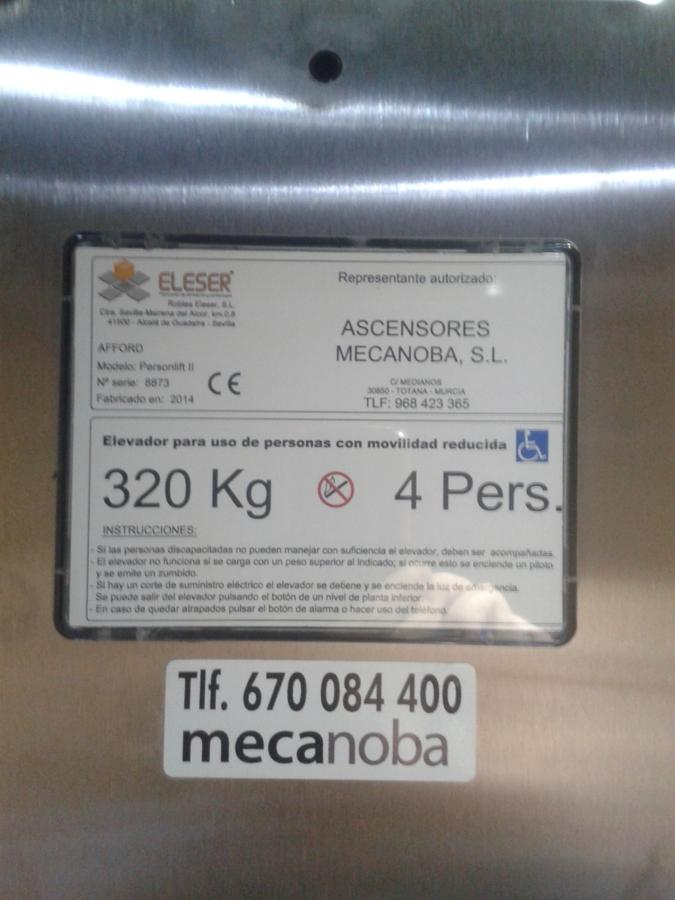 placa identificadora