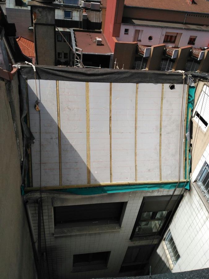 Colocación de Pizarra (Trabajo Vertical)