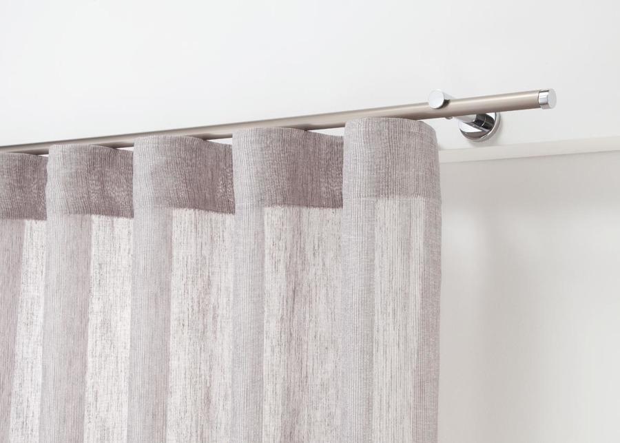 Foto cortina y riel confecci n onda perfecta de taller de - Cortinas con riel ...