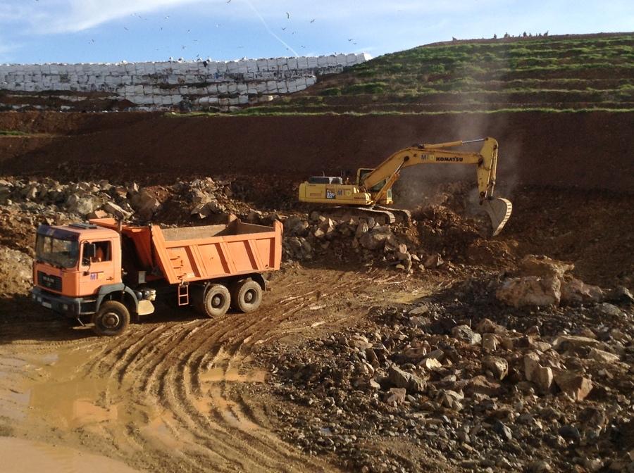 Nivelaciones Y Limpieza del terreno para construcción