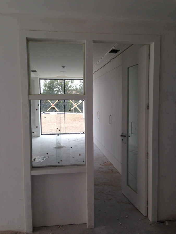 puerta cristalera