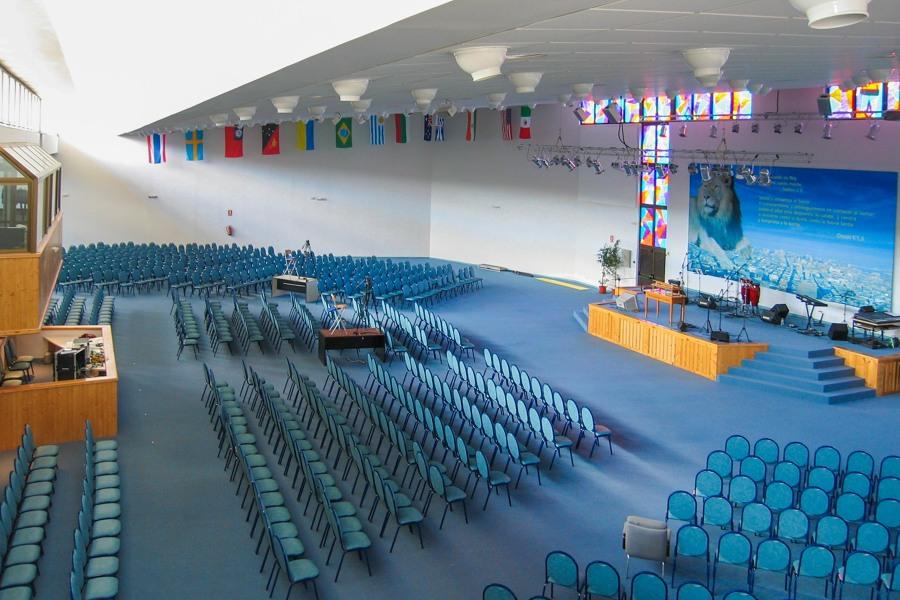 Auditorio de Betel en Madrid