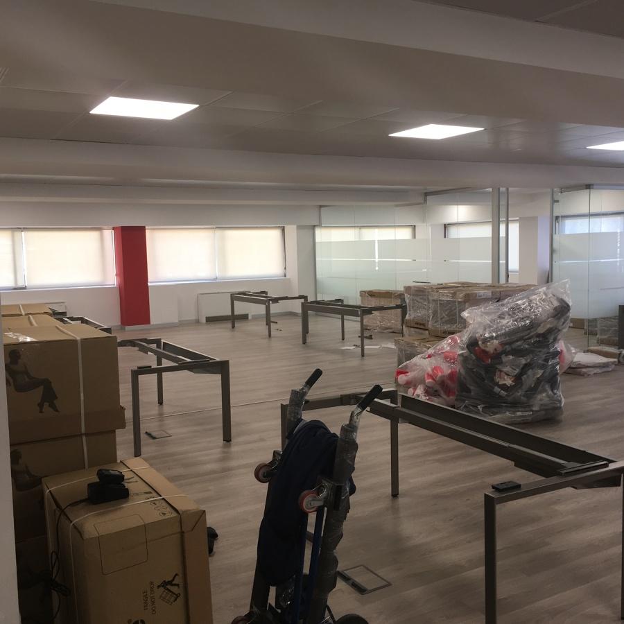 Reforma de oficinas en Gran vía, Granada