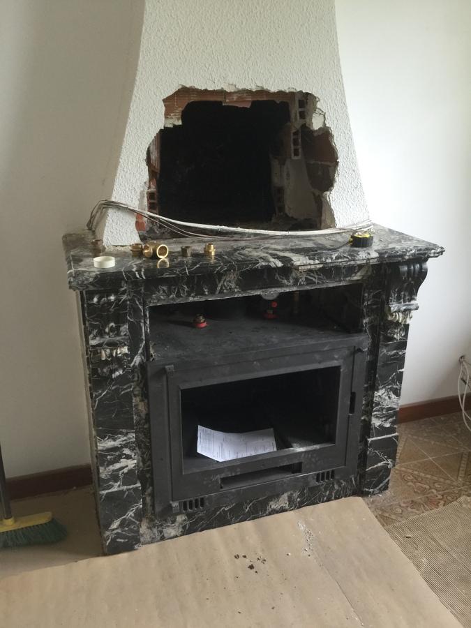 Foto chimenea cassette de calidax fireplaces 1014939 - Cassette para chimeneas ...