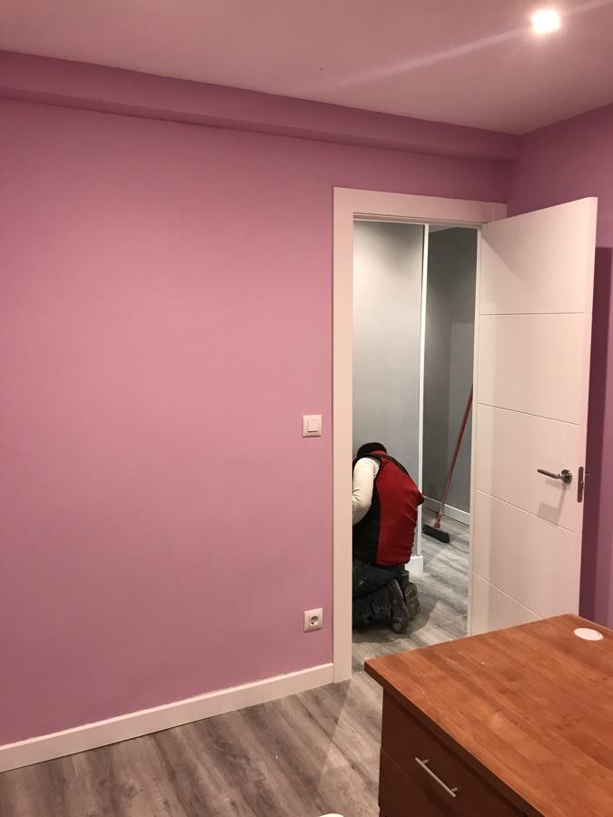 Pintura habitación
