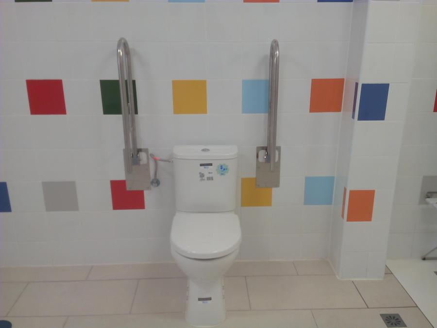 Cuarto de baño accesible