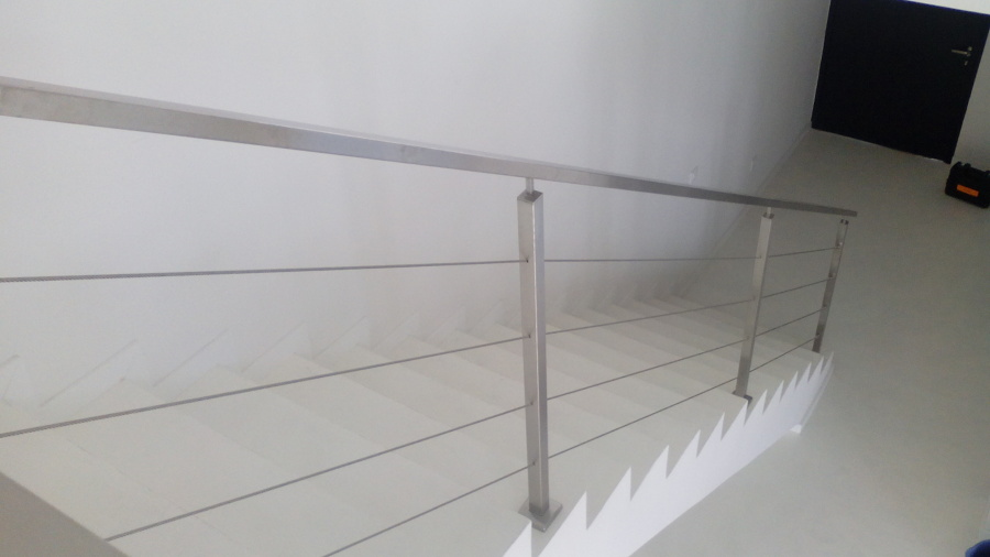 Escaleras Microcemento